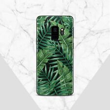Tropical Leaves Samsung Galaxy S8 S9 S10 Plus Case Palm Floral Samsung Note 8 9