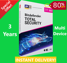 Bitdefender Total Security 2019 - 3 Years | Download Link | INSTANT DELIVERY