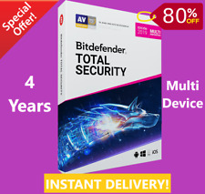 Bitdefender Total Security 2019 - 4 Years | Download Link | INSTANT DELIVERY