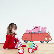 Peppa and Friends car wall sticker | Official Peppa Pig product | Stickerscape