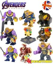 Avengers Thanos Lego Fit Figure Infinity Gauntlet Iron Man End Game UK Seller