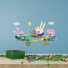 Peppa Pig George and Friends wall sticker | Official Peppa Pig product