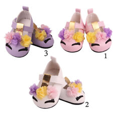 18inch Girl Doll Summer Shoes Flats for American Doll Clothes Accs Kids Gift