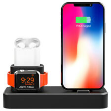 Charging Stand Station Holder Dock for iPhone for Apple Watch for Airpods 3 in1