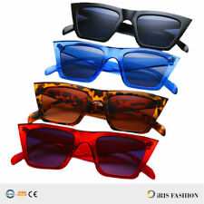 CAT EYE Womens 2019 Retro Sunglasses Designer Square Frame Eyewear Shades HOT