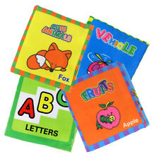 1 PC Kids Baby Intelligence Development Cloth Cognize Book Educational Toy