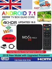2019 MXQ PRO 4K Android 7.1 Streaming media player TV Box Ultra HD! FAST & FREE!