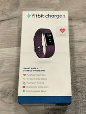 Fitbit Charge 2 Heart Rate Monitor Fitness Wristband Monitor Black or Plum