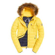 Doudoune Superdry Fuji Slim Double Yellow