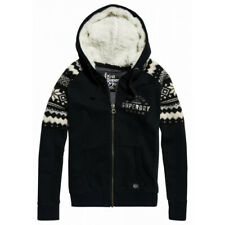 Pull Capuche Superdry Dakota Fairisle Zip Thru Mono