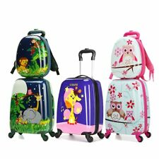 LeTrend Cartoon Rolling Luggage Set Spinner Suitcase Wheels Carry on Trolley