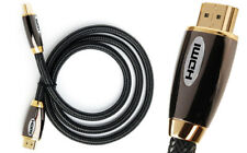 PREMIUM HDMI Cable v2.0 HD High Speed 4K 2160p 3D Lead gold plated