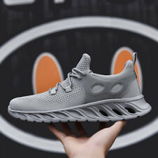 Mens Athletic Sneakers Sports Running Shoes Mesh Breathable Outdoor Walking Soft