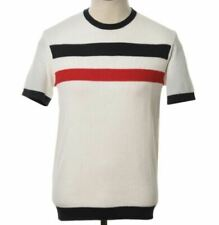 BNWT - AGC Goldhawk Knitted Tee - Off White - Size Small - XXL - Mod / Indie