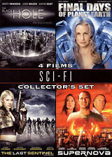 Sci-Fi Collectors Set 4 Films (DVD, 2009, 2-Disc Set)