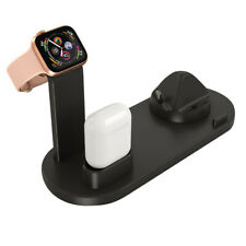 For Airpods 3 in1 Charging Stand Dock Station Holder for iPhone for Apple Watch