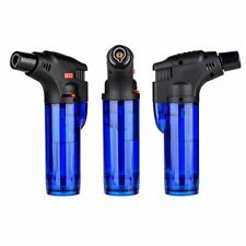 REFILLABLE ADJUSTABLE BUTANE TORCH LIGHTER COOKING FLAME IGNITION TOOL DURABLE R