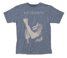 """Joy Division """"Ian Curtis on Mic"""" Album Mens Unisex T-Shirt -Available Sm to 2x"""