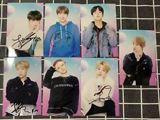 Signed Photo BTS Bangtan Boys JHope Jung Kook Jimin SUGA Jin RM V All7 Autograph