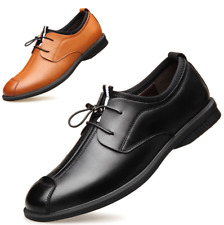 Summer Men's Casual Genuine Leather Shoes Formal Dress Slip On Loafers Flats New