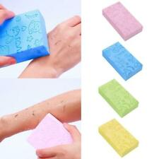 Soft Exfoliating Body Skin Bath Shower Spa Brush Scrubber Sponge Pads Adul Good