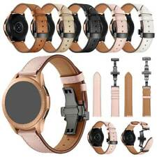 For Garmin Vivoactive 3 HR 3 Music LG W100 Stylish Leather Watch Band for Gift