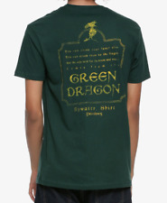 THE LORD OF THE RINGS GREEN DRAGON T-Shirt NEW Licensed & Official