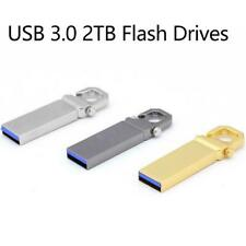 USB 2.0 32G to 2TB Drives Memory Metal Drives Pen U PC Disk Drive Lap B6L9