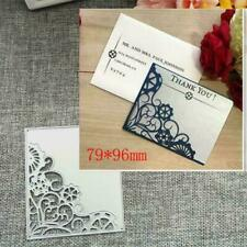 Corner Frame-Metal Cutting Dies Stencil Scrapbooking DIY Paper Crafts Card G8L3