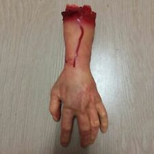 Bloody Halloween Hand Horror Props Party Decoration Scary Fake Severed Hand