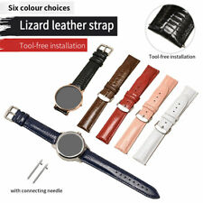 Universal Leather Replacement Strap Wrist Watch Band 18/20/22mm Sport Strap