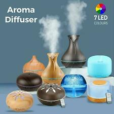 Aroma Diffuser Air Purifier Ultrasonic Led Essential Oil Humidifier Aromatherapy