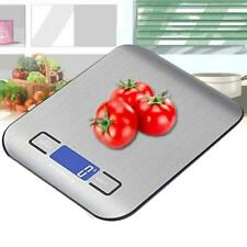 High Precision Electronic Kitchen Scales 5kg/0.1g LCD Digital Food Scale Stainle