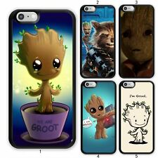 GROOT Guardians of the Galaxy Case Cover For Apple iPhone iPod / Samsung Galaxy