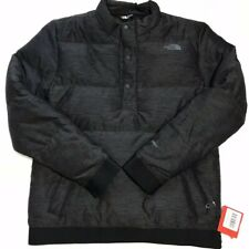 The North Face Men's Eros Goose Down Pullover Jacket Black Heather S M L XL XXL
