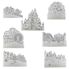 Metal Cutting Dies Cut Die Mold Halloween Frame Scrapbook Paper Crafts DIY News