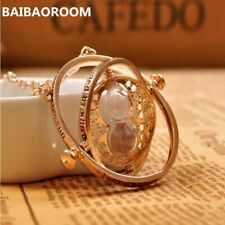 time turner necklace hourglass vintage pendant Hermione Granger for women lady