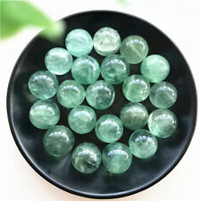 1pc Natural Green Fluorite Ball Sphere Quartz Crystal Mineral Healing Gifts