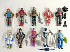 Vintage Gi Joe Action Figures and Accessories Used [Pick from the list] 1980s