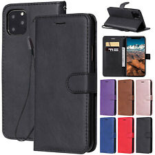 For iPhone 2019 11 Pro Max Case Luxury Magnetic Leather Card Slot Wallet Cover