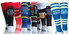 WackySox 6 Pairs for 4 Saver Pack Rugby Socks, Hockey Socks - Rugby Nut