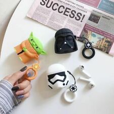 For Apple Airpods Star Wars soft Wireless Bluetooth Earphone Case charging box