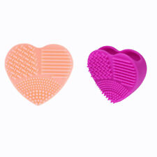 2X(Cleaner Tools Cleaning Egg Glove Makeup Cleaning Brush Silicone Washing P5I9)