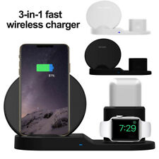 Wireless Mobile Phone Stand Charging Dock For Apple Watch Airpods iPhone X Xs