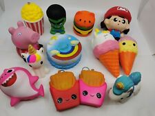 Squishy Squeeze Realistic Slow Rising Charms Collection Stress Relief Fun Toy Gi