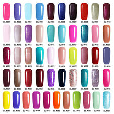 MS.QUEEN Sky Blue Gel Nail Polish UV/LED Nail Art Manicure No Wipe Top Base Coat