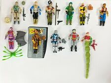 Vintage Gi Joe Action Figures & Accessories Used [Pick from the list] 1983 & 87