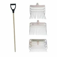 Horka Dung Fork with Sides Lightweight Plastic Manure Stable Yard Equestrian New