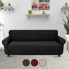 2/3 Seater Sofa Slipcover Stretch Protector Soft Couch Cover Washable Easy Fit