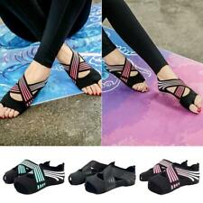 2019 New Women's Anti-slip Fitness Dance Pilates Socks Professional Indoor